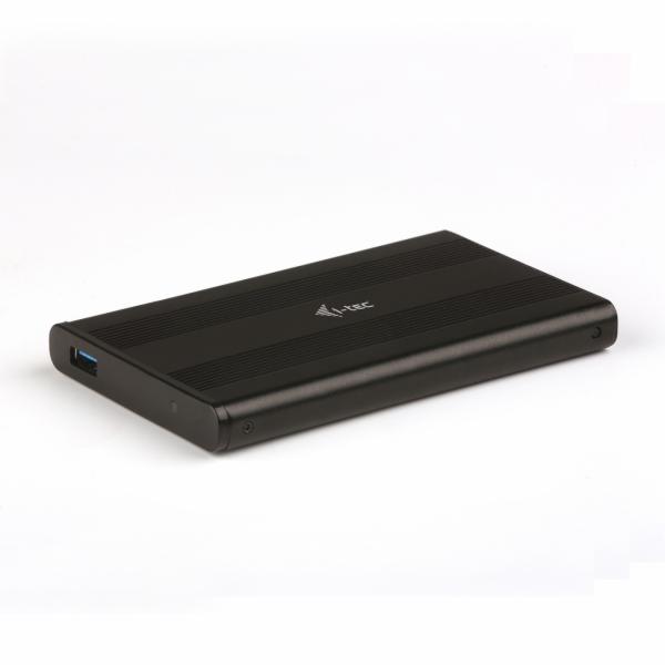 """iTec USB 3.0 MySafe AluBasic Advance rámeček na externí pevný disk 6.4 cm / 2.5"""" pro SATA I/II/III HDD SSD, hliníková k"""