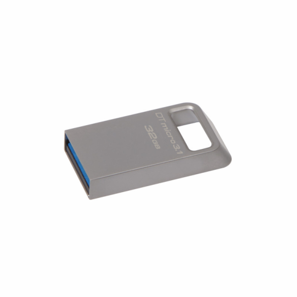 KINGSTON 32GB USB 3.0 DataTraveler Micro 3.1 Type-A metal ultra-compact drive