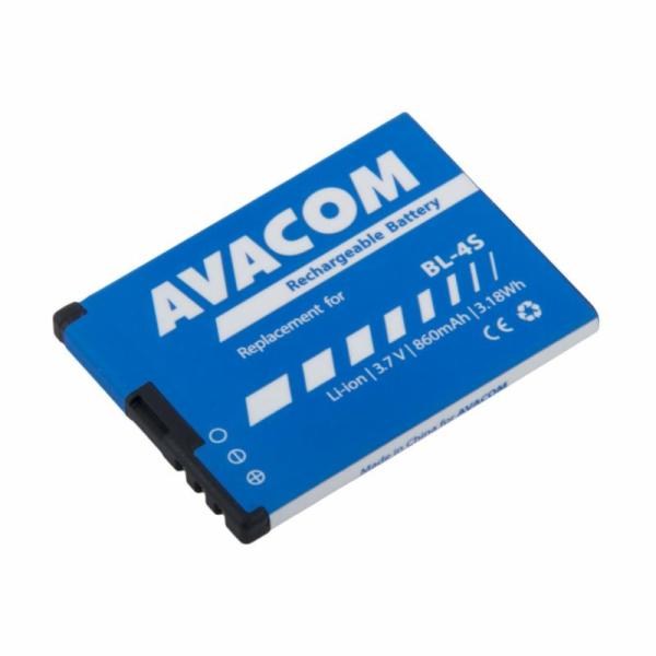 AVACOM baterie do mobilu Nokia 3600 Slide, 2680 Li-Ion 3,7V 860mAh (náhrada BL-4S)