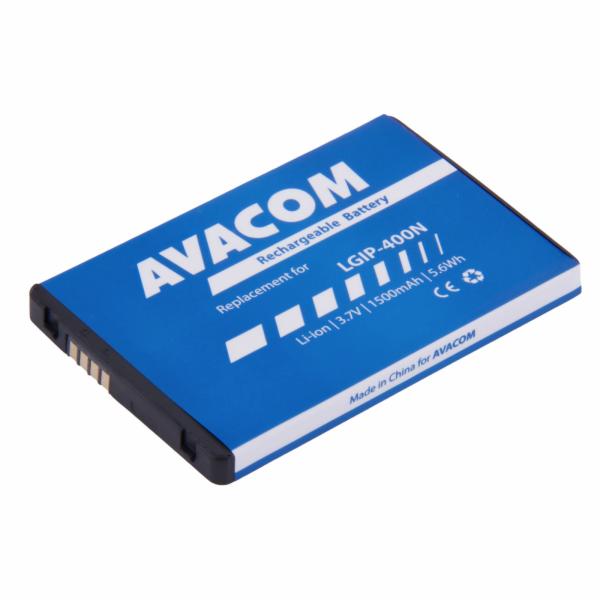 Baterie AVACOM GSLG-P500-1500 do mobilu LG P500 Optimus One Li-Ion 3,7V 1500mAh