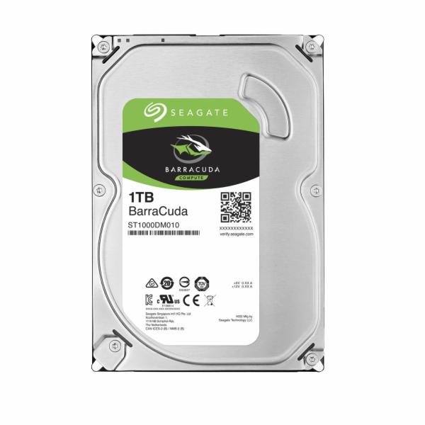 "Seagate BarraCuda 3.5"" HDD, 1TB, 3.5"", SATAIII, 64MB cache, 7.200RPM"
