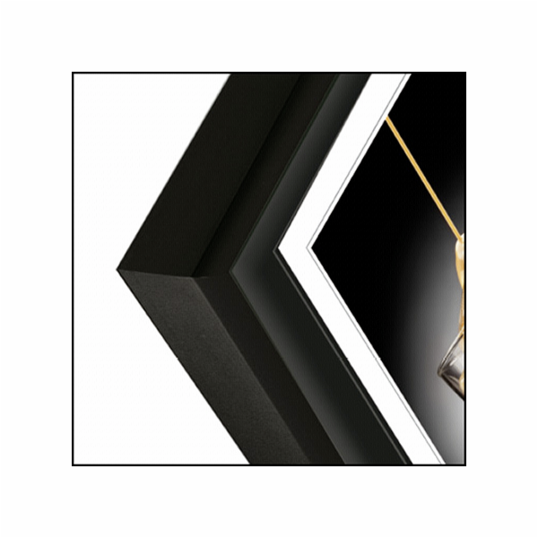 ZEP Basic black 20x30 Aluminium Frame AL1B4