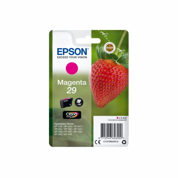 EPSON Singlepack Magenta 29 Claria Home Ink