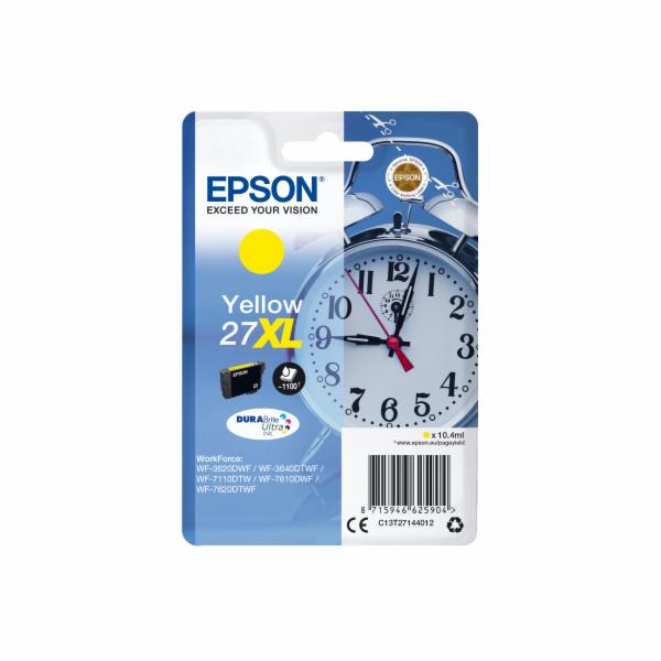 EPSON cartridge T2714 yellow (budík) XL