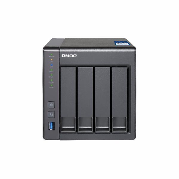 QNAP TS-431X-2G (1,7G/2GB RAM/4xSATA,1x10GbE SFP+)