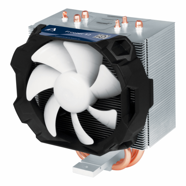 ARCTIC Freezer 12, CPU Cooler for Intel socket 2011(-v3)/1150/1151/1155/1156/2066 & AMD socket AM4, direct touch