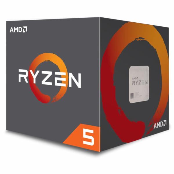 AMD cpu Ryzen 5 1600 Box AM4 (6core, 12x vlákno, 3.2GHz / 3.6GHz, 16MB cache, 65W) s chladičem Wraith Spire 65W