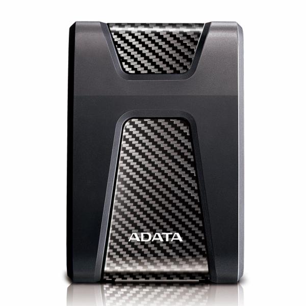 """ADATA Externí HDD 4TB 2,5"""" USB 3.1 DashDrive Durable HD650, černý (gumový, nárazu odolný)"""