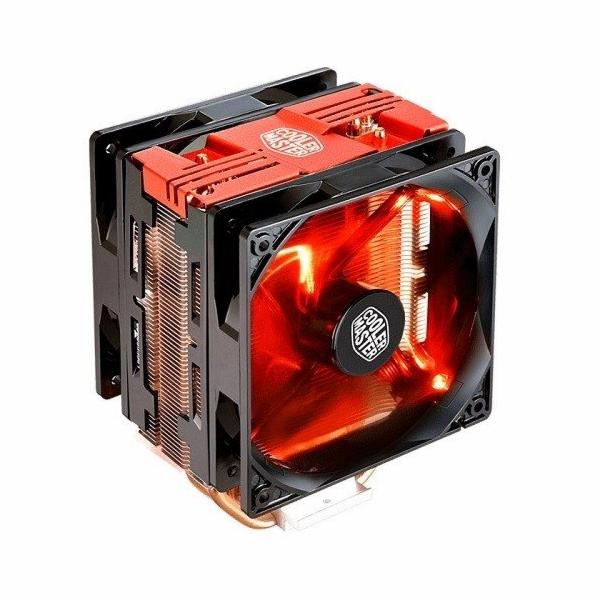 Cooler Master chladič Hyper 212 LED Turbo, red