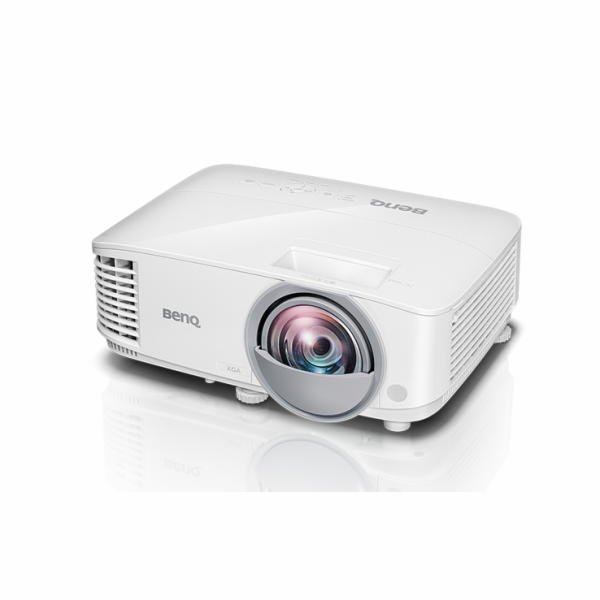 BenQ DLP Projektor MW809ST/1280x800 WXGA/3000 ANSI/20000:1/HDMI/3D/Short Throw