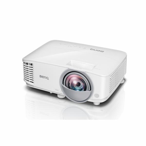 BenQ DLP Projektor MW826ST/1280x800 WXGA/3400 ANSI/20000:1/2xHDMI/3D/1x10W repro/Short Throw