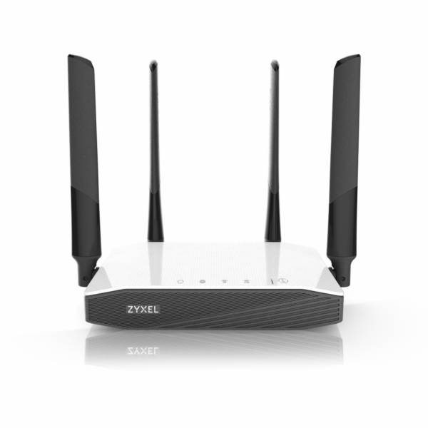 Zyxel NBG6604, Simultaneous Dual-band Wireless AC1200 Home Router, 802.11ac (300Mbps/2.4GHz+867Mbps/5GHz), back compatibility
