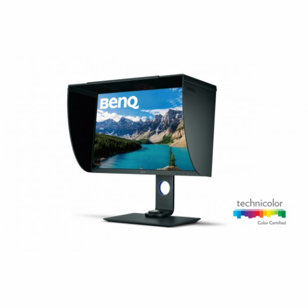 "BenQ LCD SW271 27"" W/ IPS LED/3840x2160/1000:1/5ms/350cd/m2/HDMIx2/DP/Flicker-free/Low Blue Light"