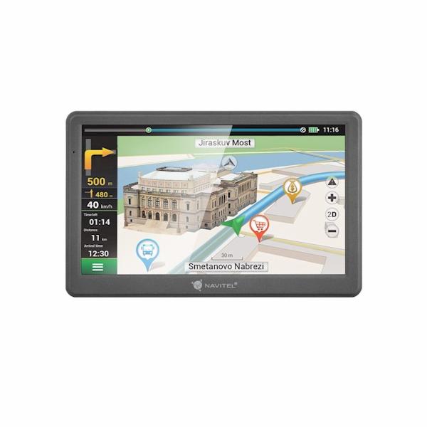 """NAVITEL GPS navigace do auta E700/ displej 7""""/ rozlišení 800 x 480/ mini USB"""