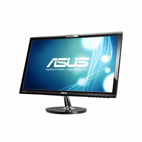 "22"" LED ASUS VK228H - Full HD, 16:9, DVI, HDMI, VGA, webkamera"