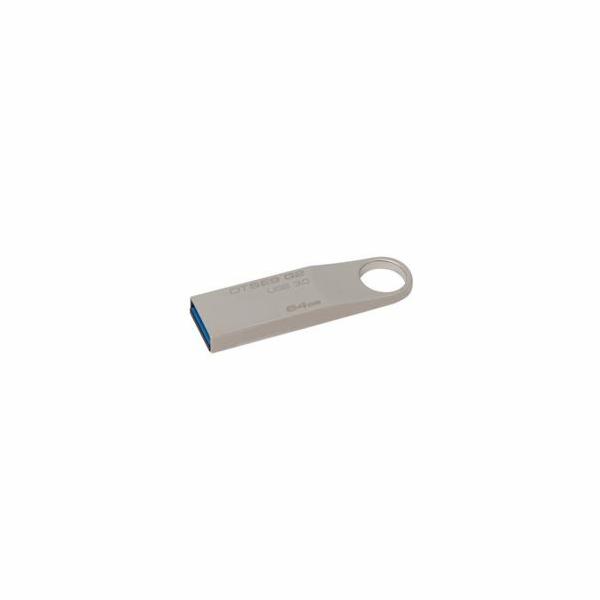 Kingston flash disk 64GB DT SE9 G2 USB 3.0 (čtení/zápis: 100/15MB/s) kovový