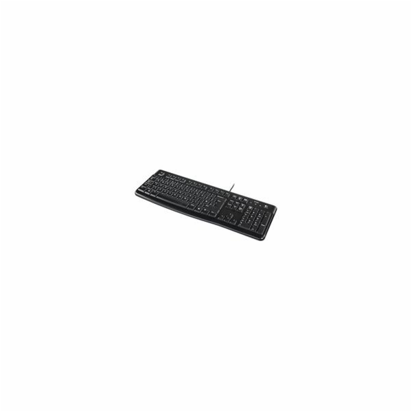 Logitech® Corded Keyboard K120 - Business EMEA - US International - BLACK