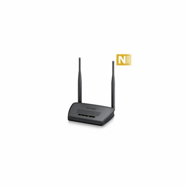 ZyXEL NBG-418N v2, Wi-Fi 802.11n (300Mbps,4xLAN 10/100,1xWAN 10/100) WPA2, 2x 5dBi antena