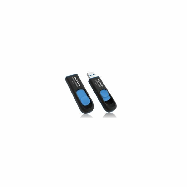 ADATA flash disk 32GB UV128 USB 3.0 modro-černý