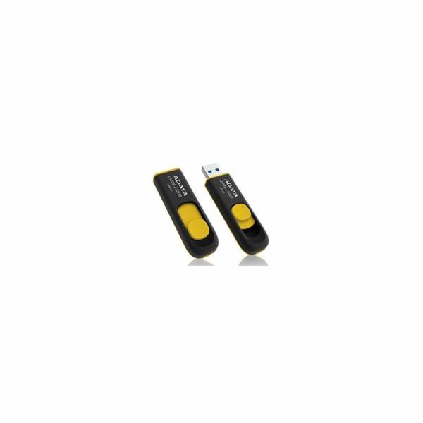 ADATA flash disk 64GB UV128 USB 3.0 žluto-černý