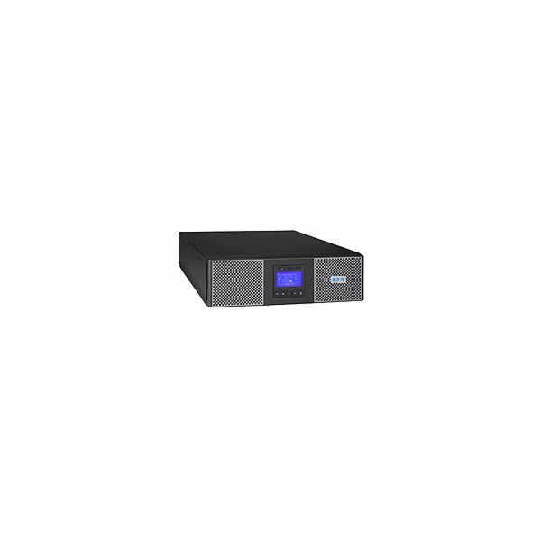 EATON UPS 9PX 5000i Netpack, On-line, Rack 3U/Tower, 5kVA/4,5kW, svorkovnice + výstup 8/2x IEC C13/C