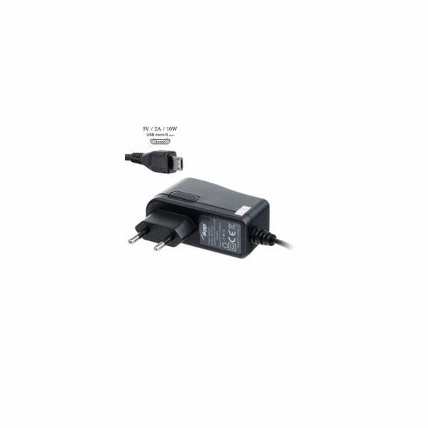Akyga Univerzální nabíječka na tablet 5V/2A 10W DC micro USB