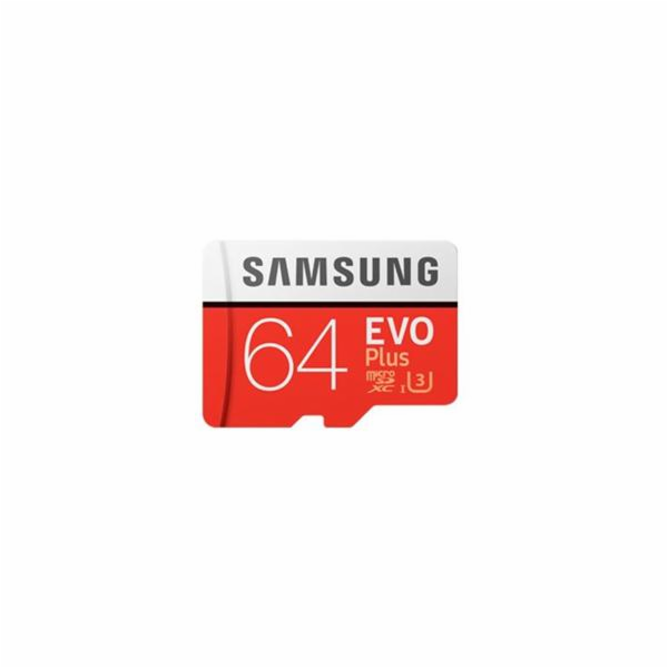 Samsung microSDXC EVO+ 64GB with Adapter MB-MC64GA/EU