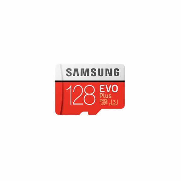 Samsung microSDXC EVO+ 128GB with Adapter MB-MC128GA/EU