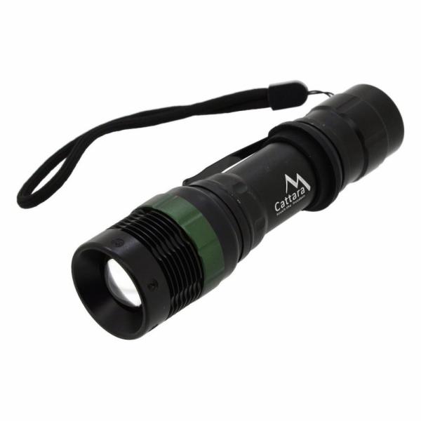 Svítilna kapesní LED 150lm ZOOM 3 funkce, CATTARA