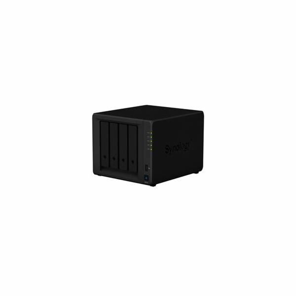 Synology DiskStation DS418, 4-bay NAS, CPU QC Realtec RTD1296 64 bit, RAM 2GB, 2x USB 3.0, 2x GLAN