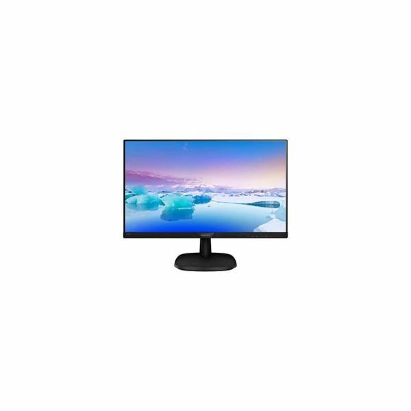"Philips 243V7QJABF/00 IPS 23.8"" LED 1920x1080 200 000 000:1 5ms 250cd DP HDMI repro cierny"