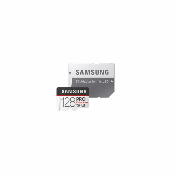 SAMSUNG microSDXC 128GB UHS-I U1 MB-MJ128GA/EU PRO Endurance + SD adaptér