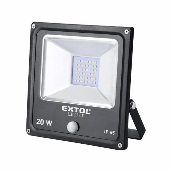 Reflektor LED s pohybovým čidlem, 1400lm, EXTOL LIGHT