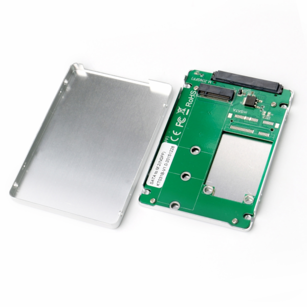 i-tec MySafe SATA M.2 Drive Metal External case 6Gbps
