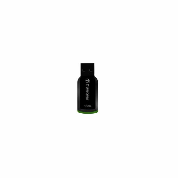 Transcend 16GB JetFlash 360, USB 2.0 flash disk, černo/zelený