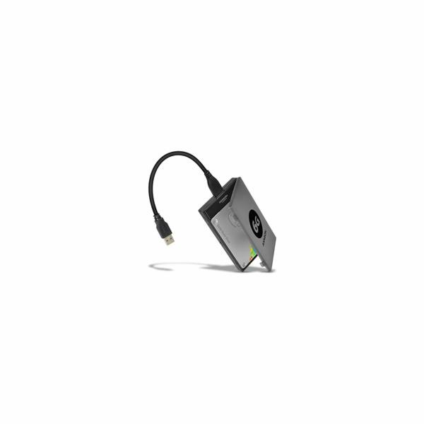 AXAGON - ADSA-1S6 USB3.0 - SATA 6G UASP HDD adapter vč. pouzdra