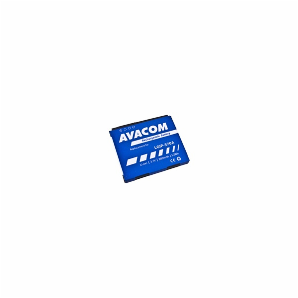 Baterie AVACOM GSLG-KP500-S880A do mobilu LG KP500 Li-Ion 3,7V 880mAh (náhrada LGIP-570A)