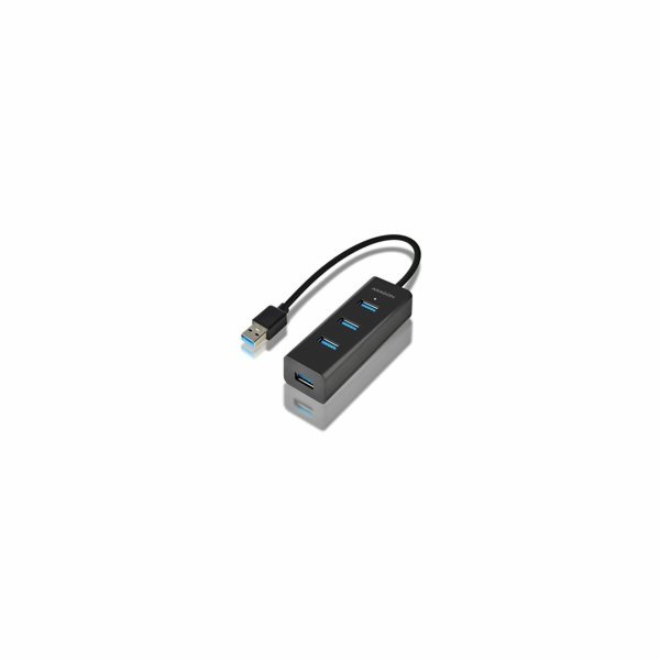 AXAGON HUE-S2B, 4x USB3.0 CHARGING hub, micro USB nap. konektor