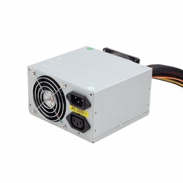 GEMBIRD CCC-PSU7 Gembird zdroj 550W ATX/BTX, CE, PFC, velmi tichý, dvojitý ventilátor