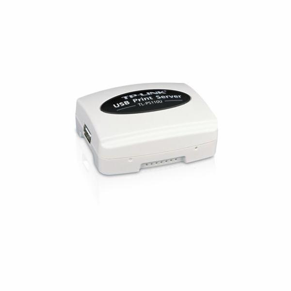 TP-Link TL-PS110U Print Server Single USB 2.0 port, 1x RJ45