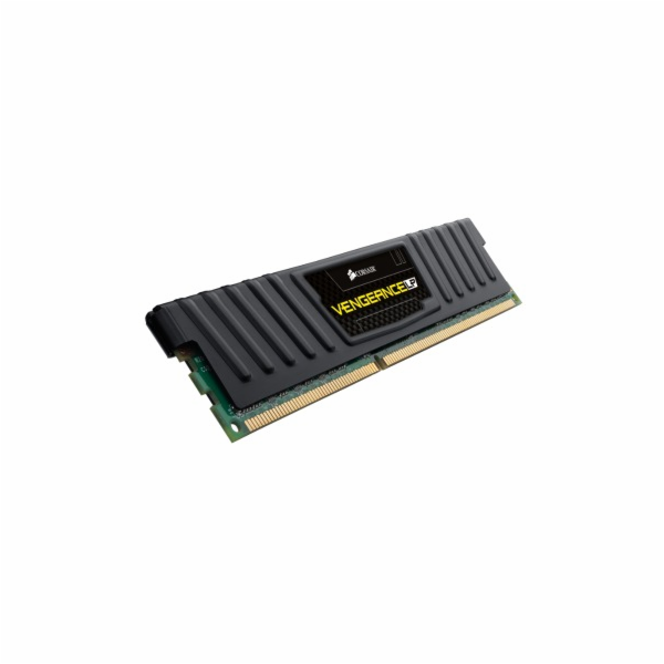 Corsair Vengeance 4GB Low Prof. 1600MHz DDR3, CL9 1.5V, chladič, XMP