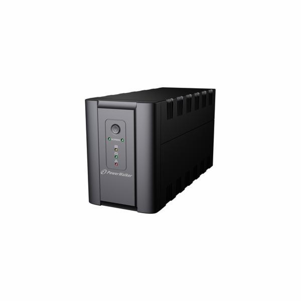 Power Walker UPS Line-Interactive 1200VA 2x 230V EU, 2x IEC C13, RJ11/RJ45, USB