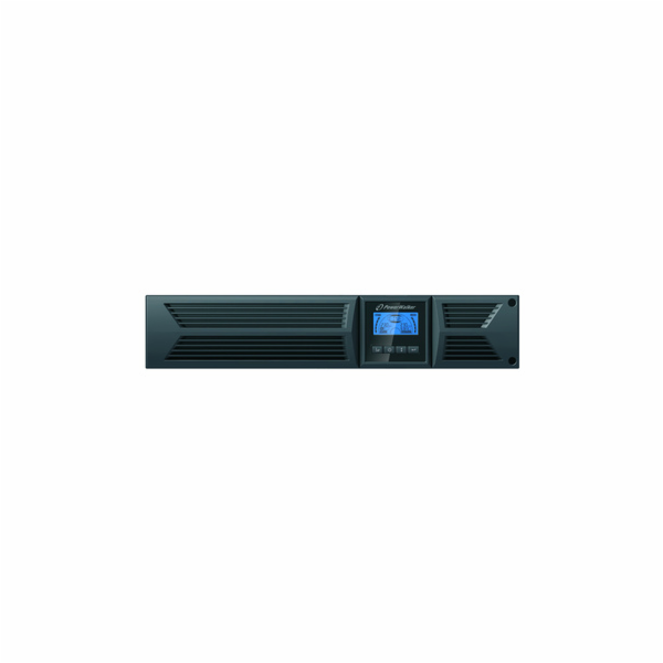 Power Walker UPS Line-Interactive 1000VA, 19'' RM, 8x IEC, RJ11/RJ45, USB, LCD