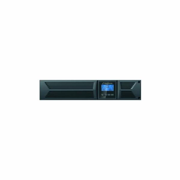 Power Walker UPS On-Line 1500VA, 19'' RM, 2U, 8x IEC, RJ11/RJ45, USB/RS-232, LCD