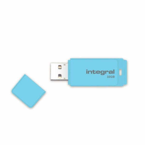 INTEGRAL USB flash disk PASTEL 2.0 32GB modrá