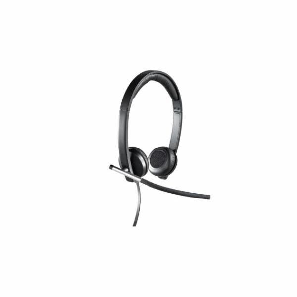 Logitech H650e Sluchátka USB Stereo
