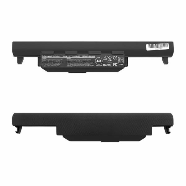 Qoltec baterie pro notebooky Asus K55 A32-K55 | 10.8-11.1V | 4400mAh