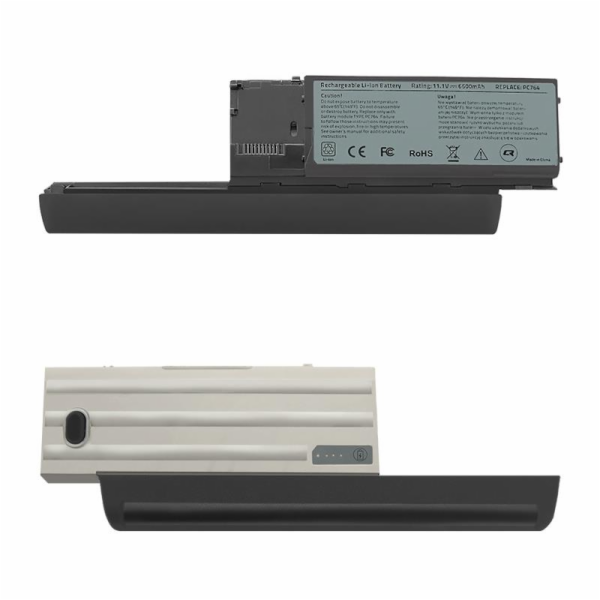 QOLTEC 52529 Qoltec baterie pro notebooky Dell Latitude D630 10.8-11.1V 6600mAh