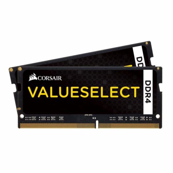 Corsair Vengeance LPX 16GB (Kit 2x8GB) 2133MHz SODIMM DDR4 CL15 1.2V, černý