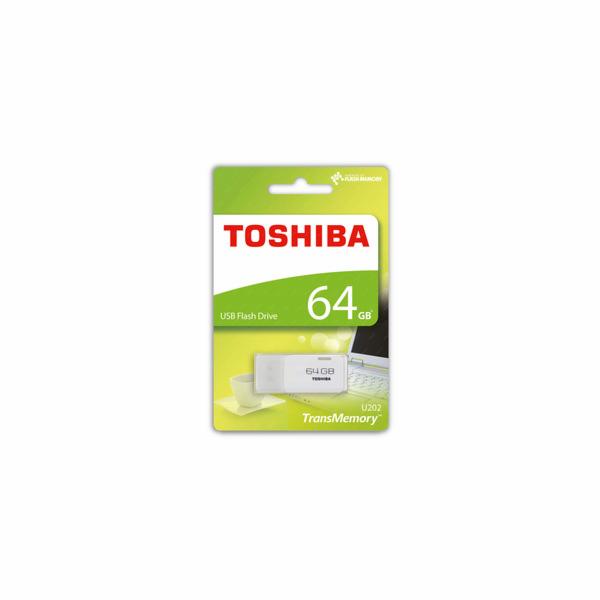 Toshiba flash USB U202 64GB USB 2.0 bílá